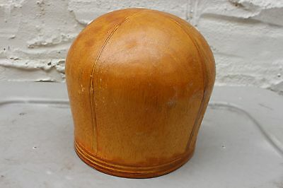 Antique Original Wooden Wood Block Hat Mold Millinery Vintage General Store