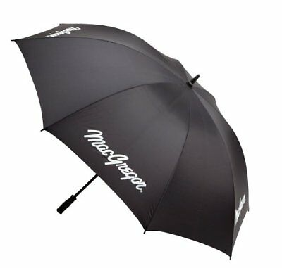 Macgregor Single Canopy Umbrella - (Black, 66 InchSteel, Right Hand)