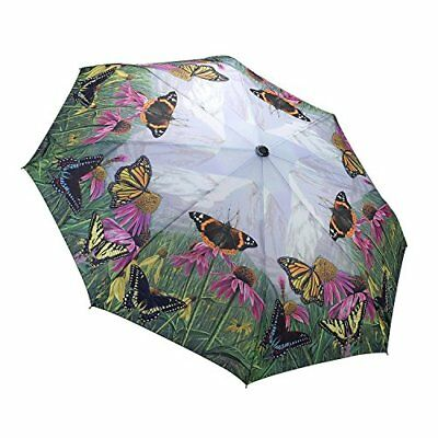 Butterfly Mountain Folding Umbrella with Automatic Open and Close