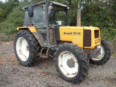 ***renault 58.34 4Wd Tractor***