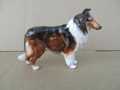 "Vintage Royal Doulton HN 1059 Collie Dog Figurine. Signed B. 5 "" Long"