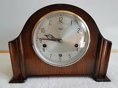 vintage smiths enfield westminster chime mantle clock