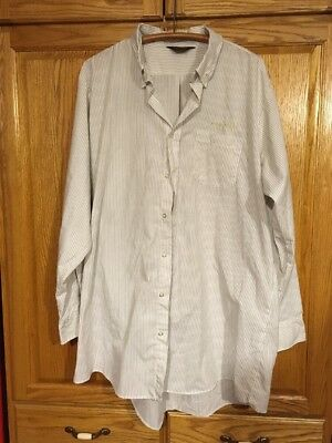 John Deere Service Button Down Long Sleeve Shirt 3xl