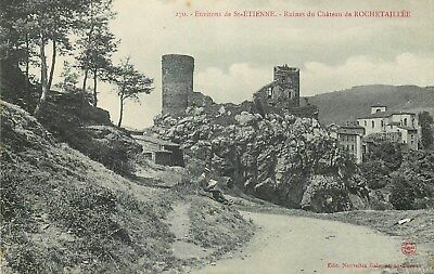 42 Ruines Chateau De Rochetaillee