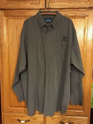 John Deere Button Down Long Sleeve 3xl Shirt