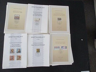 GERMANY - FINE COLLECTION OF 8/900 ETB SHEETS - 1980s/1990s