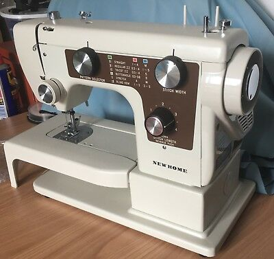 JANOME NEW HOME Free Arm Sewing Machine EXCELLENT CONDITION Semi Industrial