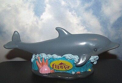 Flipper Dolphin Movie Figurine 1996 3 3/4'' Cake Cupcake Topper Kids Birthday