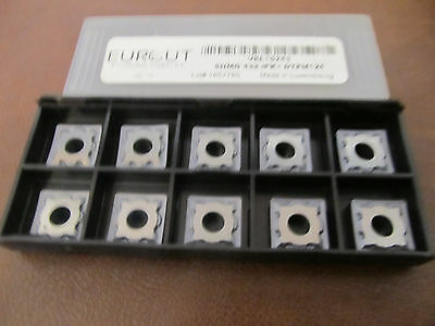 10 Pcs Eurcut Snmg 432-Ipk Dtpm126  Carbide Inserts Made In Luxembourg