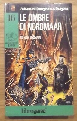 Librogame Advanced D&d 16 Le Ombre Di Nordmaar 1A Ed. Libro Game