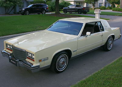 1982 Cadillac Eldorado COUPE - TWO OWNER SURVIVOR - 35K MI IMMACULATE TWO OWNER SURVIVOR -1982 Cadillac Eldorado - 35K ORIG MI