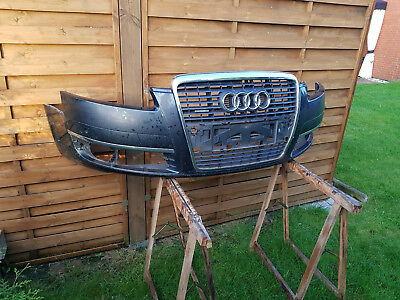 Audi A6 4F Frontstoßstange mit PDC incl Grill