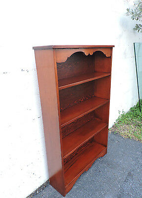 Vintage Traditional Bookcase Narrow Bookshelf 8020