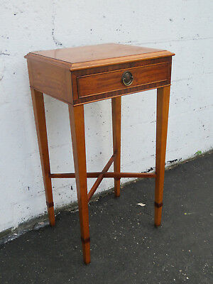 French Nightstand Side End Lamp Table 8636