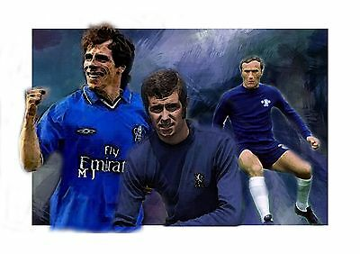 prints selling business chelsea   football icons