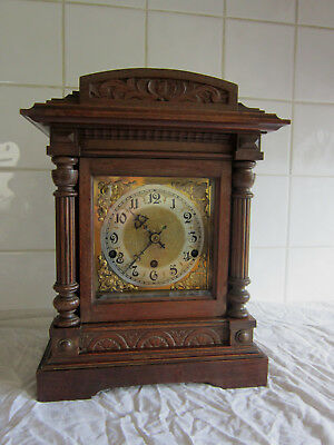 Stunning Large Bracket clock Westminster Chime-circa 1900