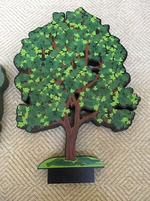 Sheila's Wood Summer Tree With Stand