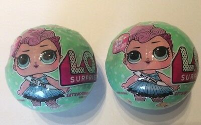 LOL Surprise Doll BIG SISTERS 2 BALL Series 2 100% AUTHENTIC!  SAME DAY SHIPPING