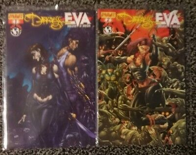 The Darkness Eva Daughter of Dracula new sealed #1 + #2