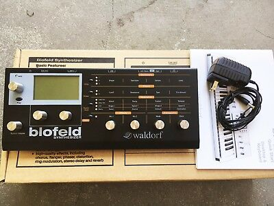 Waldorf Blofeld Wavetable & Analog Modeling Synth - Limited Edition Black