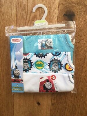 New Mini Club Thomas and Friends Vests 12-18 months