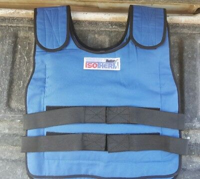 Bullard X-Large 2XL  Blue Isotherm Cooling Vest With COOL Packs