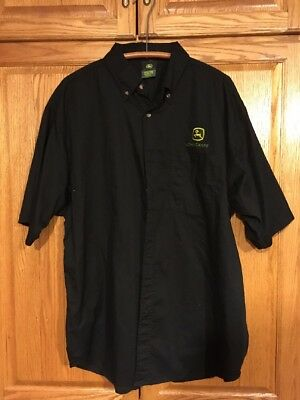 John Deere Button Down Shirt 2xl