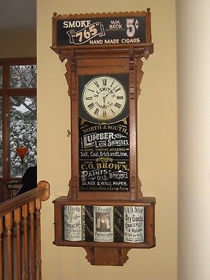 Sidney Advertising Clock From The 1890's