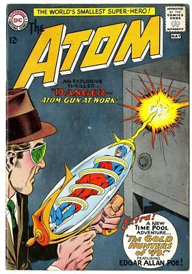 Atom #12 VG+ 4.5 off-white pages  DC  1964  No Reserve