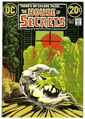House of Secrets #100 VF/NM 9.0 white pages  Wrightson cover  DC  1972  No Resv