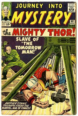 Journey into Mystery #102 VG/FN 5.0  1st app. Sif  Thor  Marvel 1964  No Reserve