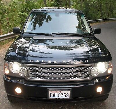 2006 Land Rover Range Rover  Clean Fully Loaded LAND ROVER RANGE ROVER 4WD HSE SUPERCHARGED SUV 4X4 low miles