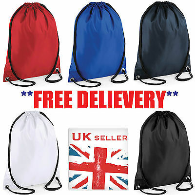 1 3 5 10 20 25 50 100 Waterproof Bag Drawstring Backpack Gym Pe Duffle - New Lot