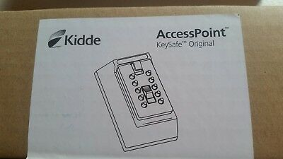 Kidde AccessPoint 001015 KeySafe Original Pushbutton Combination KeyBox