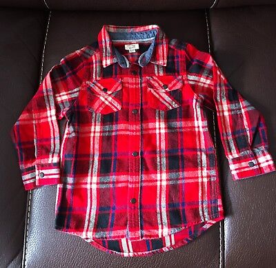 Boys Checked Shirt Size 18-24 Months River Island - BRAND NEW