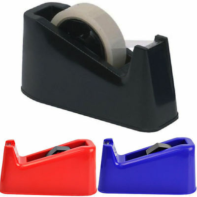 Desktop Office Heavy Duty Heavy Weight Sellotape Tape Dispenser Holder