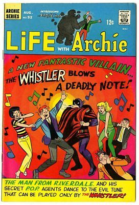 Life with Archie #52 VF/NM 9.0 ow/white pages  Man From Riverdale  1966  No Resv