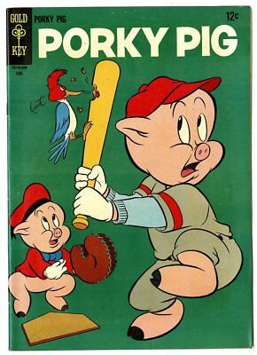 Porky Pig #6 VF+ 8.5  Gold Key  1966  No Reserve
