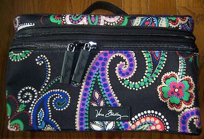 Vera Bradley ~ KIEV PAISLEY Lighten Up Brush Up Cosmetic Case / Travel Bag~ NWT