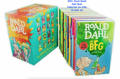 New Roald Dahl Collection Phizz Whizzing 15 Classic Story Books Box Set Children