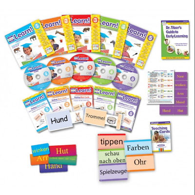 Your Child Can Read Robert Titzer PhD - The Complete Series - Missing 3 CDs And