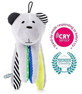 Whisbear® Premium - the Humming Bear with CRYsensor - Baby Shusher and Soother