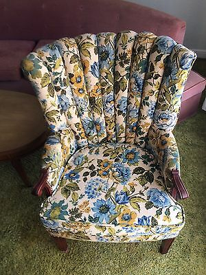 Wingback Chair- Vintage
