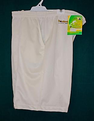 Lawn Bowls Clearance: NEW BOWLSWEAR MS01 Mens 3XL Cream Shorts  FREE SHIPPING