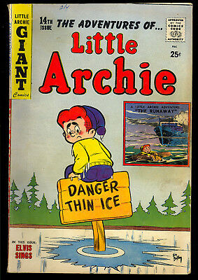 Little Archie #14 Nice Silver Age Betty & Veronica Giant Comic 1960 VG-