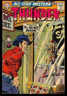 All-Star Western #114 Nice Johnny Thunder Silver Age DC Comic 1960 VG