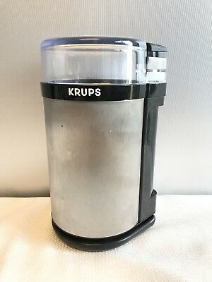 Krups GX410011 Electric Spice Herb Coffee Grinder with Stainless Steel Blade