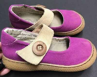 Girls Sz 10 Livie & Luca CARTA Violet Purple Mary Jane Shoes HTF!