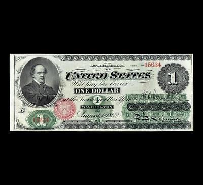 Spectacular 1862 $1 Legal Tender Strong Extra Fine ++ Condition