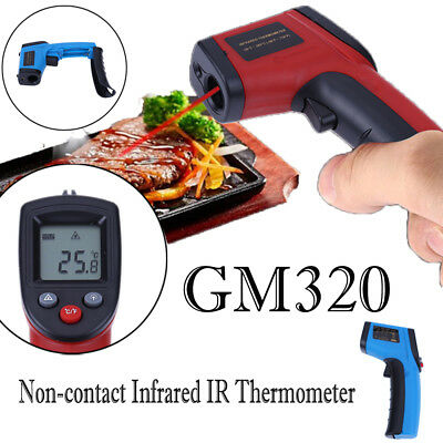 LCD Temperature Gun Non-contact Infrared IR Laser Digital Thermometer Temp Meter